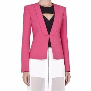 NWT BCBGMAXAZRIA Chandler jacket in Begonia pink
